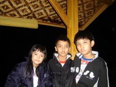 Malam yg dingin sekali di Nangorak