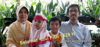 Selamat Idul Fitri 1429 H