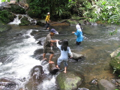 Bermain Air Di Curug Macan